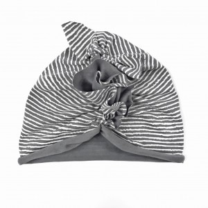 TURBAN WHITE STRIPES